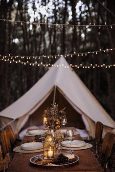 Glamping Picnic in the Forest - Breathe Bell Tents Australia Backpacking Tent, Camping Glamping, Diy Camping, Camping Gear, Camping Hacks, Camping Outfits, Camping Stuff, Camping Crafts, Hiking Gear