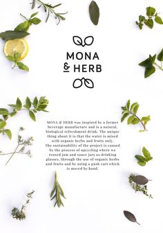 MONA & HERB - Eine unglaubliche Liebesgeschichte on Behance