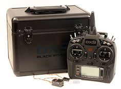 Spektrum DX9 Black Edition Transmitter - Computerized wizardry that talks to you – nicely
