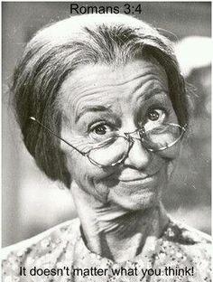 """""""Granny""""- Irene Ryan                                                                                                                                                                                 More"""