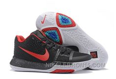 best loved 3aeaa 93aad Nike Kyrie 3 Mens BasketBall Shoes Navy Red