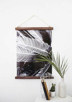 Kreative Und Minimalistische Wanddeko Idee
