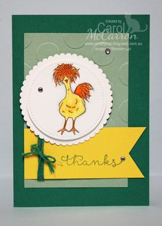 =A Crafty Cat: Stampin' Up! SAB Hey Chick