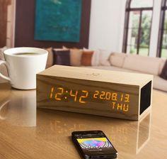 Gingko-LED-Music-Click-Clock