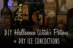 Halloween DIY inspiration from Peachfully Chic
