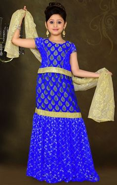 68273b8d7 Kids Wear Party Wear Lehnaga Choli