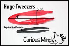 Huge Tweezers for Busy Bags and Sensory Bins