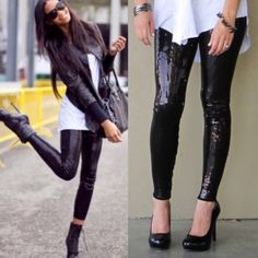 NEWThe BROOKLYN sequin leggings - BLACK HP 12/22Super fun & which girl isn't head over heels in love with sequins? Perfect to jazz up any outfit. So versatile. Can be worn semi casual or dressed to kill! LIMITED QUANTITIES AVAILABLE. Get yours soon! ‼️NO TRADE‼️ Bellanblue Pants Leggings