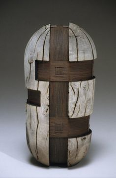 Todd Hoyer - wood & metal, turned, weathered, carved, burnt