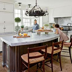 Antique White Kitchen - All-Time Favorite White Kitchens - Southern Living