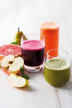 3 friskpressede juicer - Vægtkonsulenterne