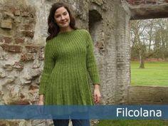 Bretagne | Filcolana knitting tunic sweater dress free pattern