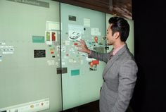 Bluescape launches huge virtual #whiteboards to help your team #collaborate - Users can access these #workspaces through a giant multi-touch display wall or a desktop PC browser or mobile device.