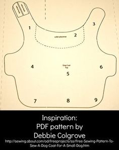 pattern for a 12 pound dog coat   ... little coat i found this free pattern that was for a very small dog