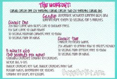 Be Fit Friday: Throwback List!