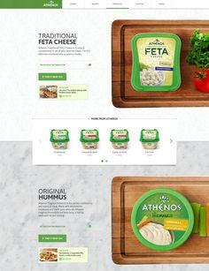 http://www.athenos.com/products/ Dobrá interakce na scroll