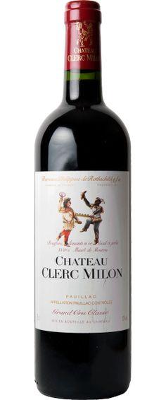 Château Clerc Milon 2010 :Attaque dense, beau milieu de bouche dense, très Pauillac, concentré et long, superbe finale    En savoir plus : http://avis-vin.lefigaro.fr/vins-champagne/bordeaux/medoc/pauillac/d20448-chateau-clerc-milon/v20705-chateau-clerc-milon/vin-rouge/2010##ixzz2BXul5gHx