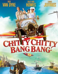 Chitty Chitty Bang Bang movie - I'm actually watching this with my son right now. He loves it just as much as I did. My little guy is keeping me company while I'm feeling under the weather. I'm loving this moment...