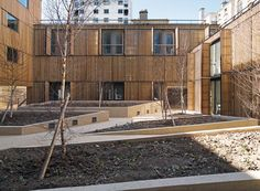Studentenwohnheim in Paris, LAN architecture