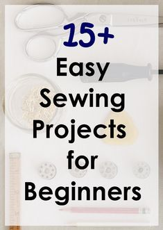 Nice size list of easy sewing projects for beginners