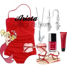 Arista A Day at the Beach by Polyvore