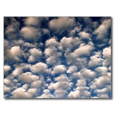 Cloudscape Post Card. Click to buy from my Zazzle store.