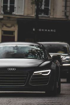 Looking to customize your Audi? We carry a wide variety of Audi accessories including dash kits, window tint, light tint, wraps and more. Ferrari, Maserati, Bugatti, My Dream Car, Dream Cars, Porsche, Black Audi, Black Cars, Latest Cars