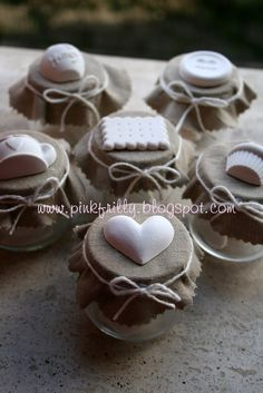 Diy Arts And Crafts, Crafts To Sell, Diy Crafts, Coffee And Books, Jar Gifts, Baby Party, Little Gifts, Diy Wedding, Christmas Time