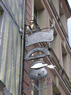 restaurant la Poule au Pot Rouen | Flickr: Intercambio de fotos