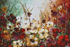 """Garden Bliss"" by Christine Krainock.  Explore more floral prints at www.imagekind.com!"