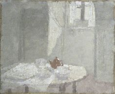 Interior, Gwen John, 1924 Manchester Art Gallery, oil on canvas Gwen John, Manchester Art, Post Impressionism, Oil Painting Reproductions, Modern Artists, Art Uk, Your Paintings, Les Oeuvres, Painting & Drawing