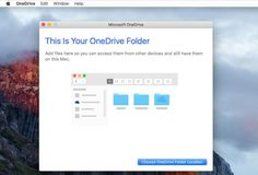 Microsoft OneDrive is a cloud-based storage and syncing service that offers 5 GB of free storage. OneDrive works with Macs, Windows, and mobile devices.
