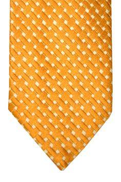 Tom ford new collection, men necktie mustard gold