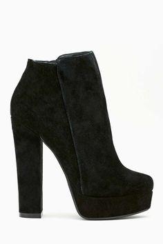 Shoe Cult Mischief Bootie - Black   Shop Heels at Nasty Gal