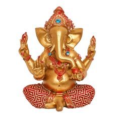 Ganesh Ji being the God of beginnings, is honored at start of rituals and ceremonies. He is Lord of Success and destroyer of evils. The presence of this piece of art will be auspicious for your home and surroundings.