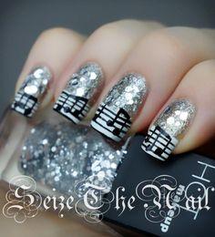 hot makeup nail art