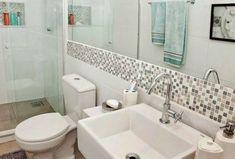 revestimento para banheiro pastilha adesiva cinza