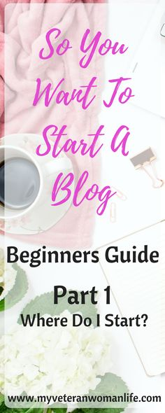 Want to start a blog but not sure where to begin?  Let me walk you thru the steps from choosing a niche, selecting a platform and hosting service, to putting it all together.