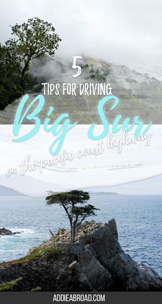 Big Sur on California's Highway One is often lauded as one of the most beautiful sections of highway in the world - and for good reason. If you're planning on making a road trip down the Pacific Coast Highway, then you'll definitely want to check out these 5 tips for driving Big Sur.
