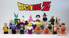 Dragon Ball Z Kame House and minifigs | The Brothers Brick | The Brothers Brick | LEGO Blog