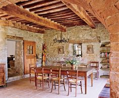 tuscan farmhouse, peter kurt woerner.  photo: bärbel miebach