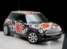 Now this...is just Incredible! You know the famous  mosaic tile maker Bisazza? Well here's their rendition  of the Mini Cooper. Absolutely gorgeous.