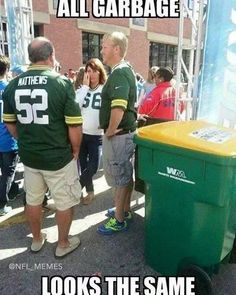 Packers are so overrated. Packers Memes, Packers Funny, Funny Football Memes, Funny Sports Memes, Nfl Memes, Sports Humor, Funny Mems, Most Popular Memes, Minnesota Vikings