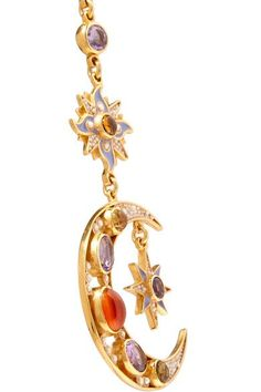 Percossi Papi - Gold-plated Multi-stone Earrings - one size