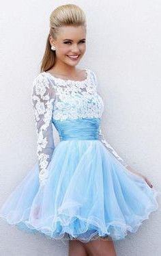 Blue and white dress #cocktaildress #mini #short