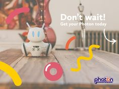 Photon Entertainment is raising funds for Photon - World's First Robot Which Grows With Your Child on Kickstarter! Photon is the first robot that develops together with your child. It makes a child's first steps into the world of technology!
