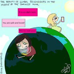 Palasia sateenkaaresta: The Beauty Of Global Friendships