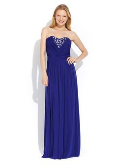 DECODE 1.8 Strapless Gown with Embellished Bodice $139.99