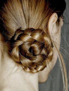 Braided bun beauty-like it, love it, pin it, share it byghairmask.com