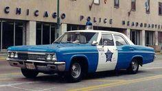 Chicago Police Cruiser-1966 Chevrolet Bel-Air.